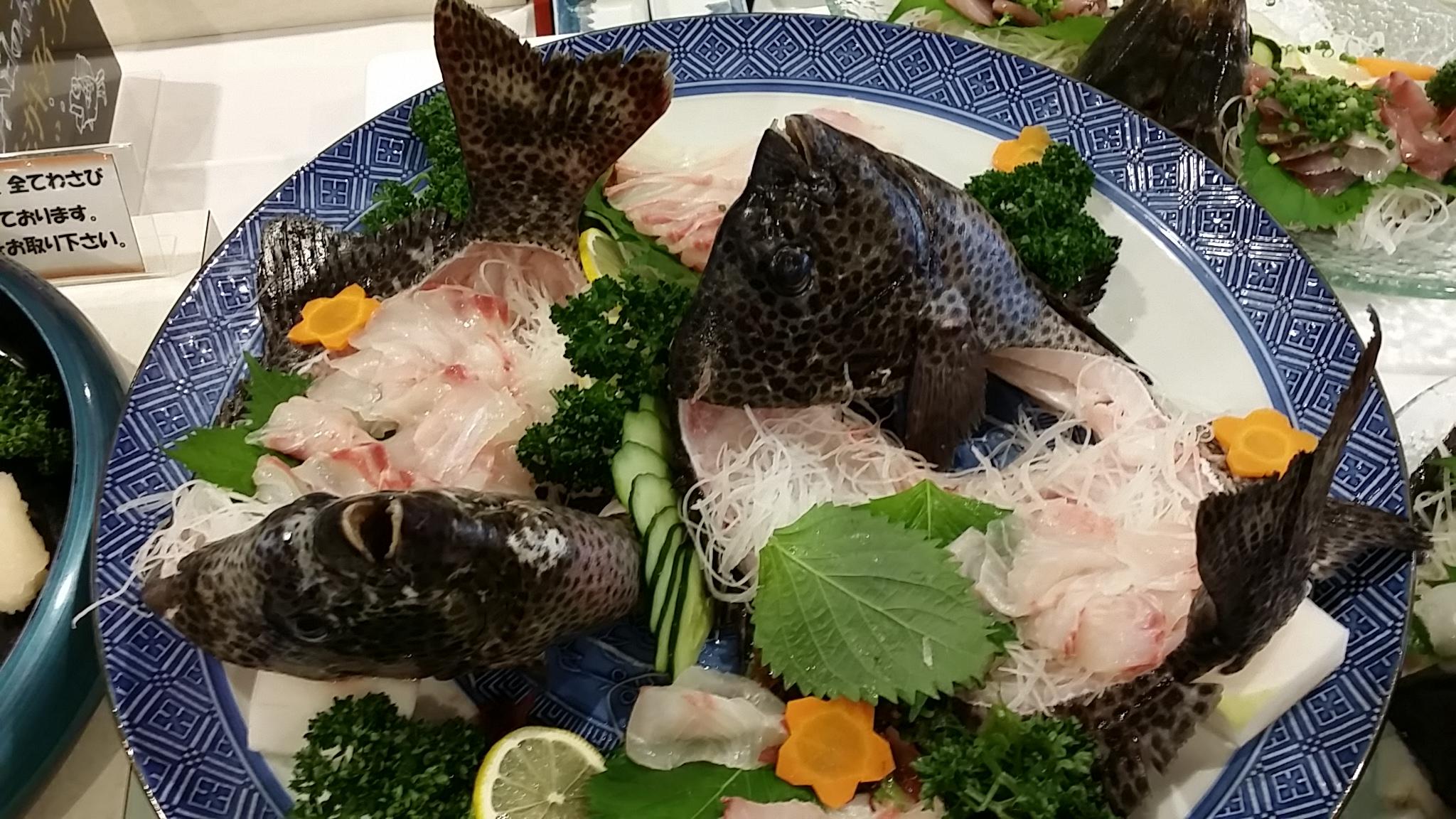 石垣鯛 食べ放題(*^▽^*)